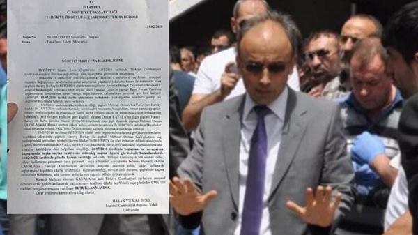 Photo of Kavala iddianamesinin savcısı bakan yardımcılığına atandı
