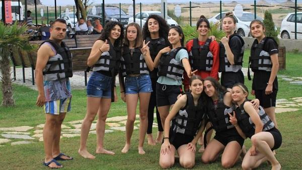 Photo of Sarısu Gençlik Kampında İzmitli atletizmciler moral depoladı