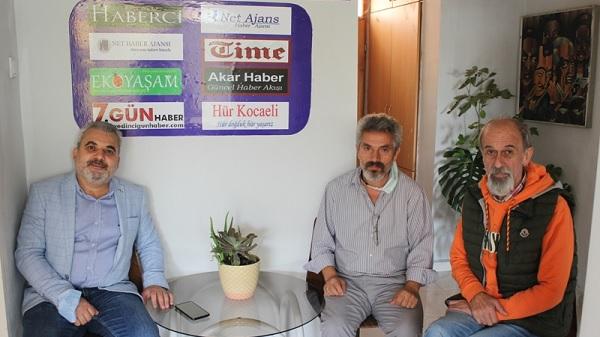 Photo of Turan Şahin Net Medya Grubu ziyaret etti