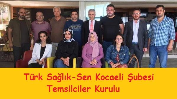 Photo of Türk Sağlık Sen Kocaeli Temsilciler Kurulu Toplandı