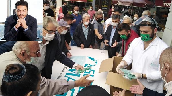Photo of Uğur Akkuş sözünü tuttu 54 bin maskeyi dağıttı