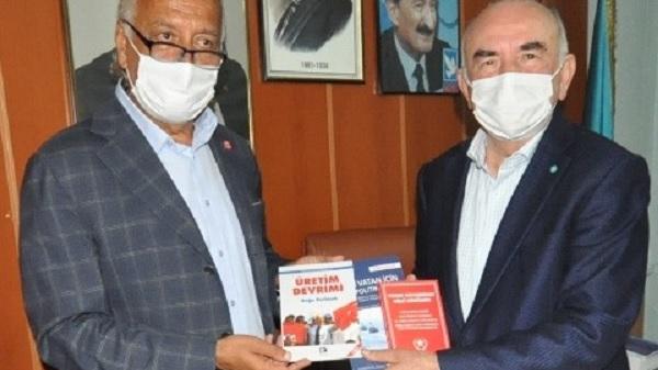 Photo of Vatan Partisi Kocaeli'den DSP Kocaeli'ye iade-i ziyaret