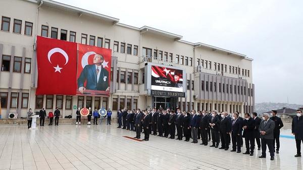 Atatürk 10 Kasım'da Dilovası'nda törenlerle anıldı....