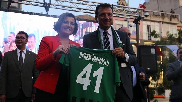 Photo of Başkan Hürriyet ve Başkan İmamoğlu dan ortak proje buluşması