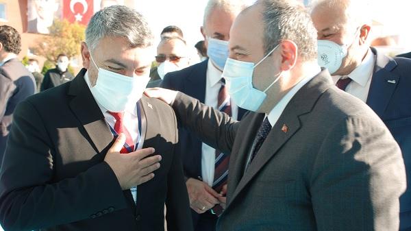Başkan Şayir Dilovası için her kapıyı çalıyor