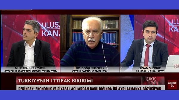 """Photo of Perinçek: """"Gemi baskını Biden'dan 'demokratik destek' talebine olumlu yanıttır"""""""
