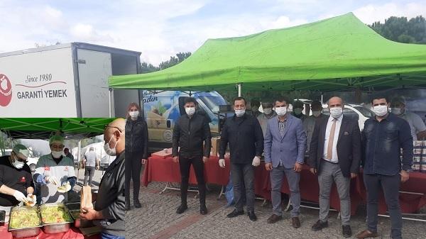 Gelecek Partisi Kocaeli Teşkilatı İzmir'de deprem bölgesinde