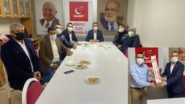 Photo of Gelecek Partisi Körfez teşkilatı Saadet Körfez'e gitti