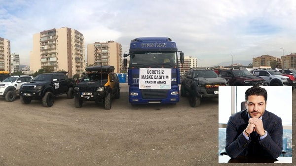 Hayırsever işadamı Uğur Akkuş İzmir'de depremzedeleri unutmadı