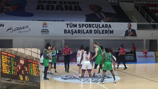 Photo of Euroleague öncesi İzmit Belediyespor Adana'da moral buldu
