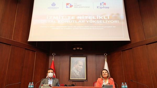 Photo of Depreme dayanıklı konutların ismi KİPTAŞ İzmit Çınar Evler olacak