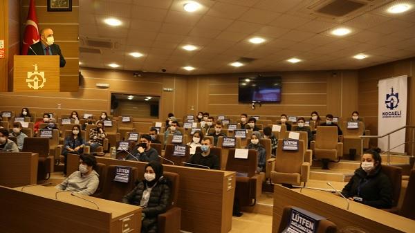 Photo of Kocaeli Büyükşehir stajyerlerine oryantasyon eğitimi