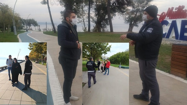 Photo of Kocaeli Büyükşehir'den maske ve sosyal mesafe denetimi