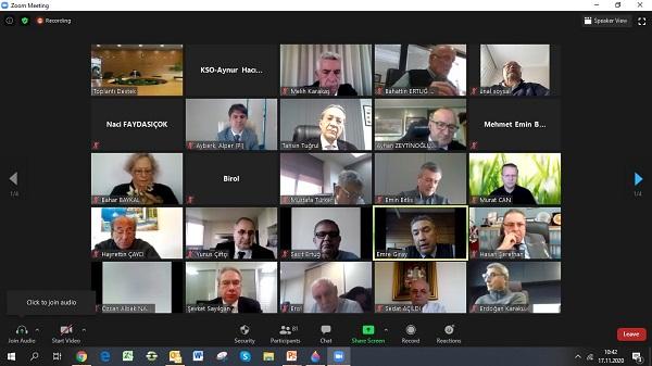Kocaeli Sanayi Odası Meclis Toplantısı