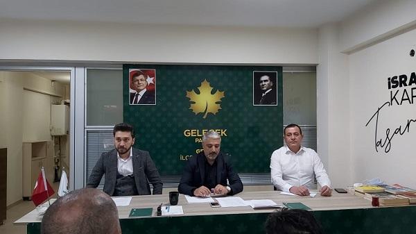 Photo of Osmanoğlu Gelecek Partisinin ilk Genel Kurulunu Değerlendirdi