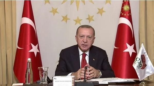 """Photo of Erdoğan: """"Rant üzerine kurulu küresel ekonomi insanı koruyamaz"""""""