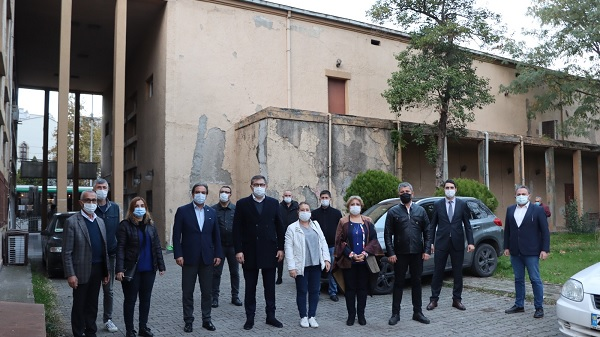 Photo of Restore bekleyen 'Halkevi Binası'na 'Siyah Kurdela' bağlanıyor