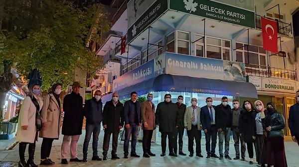 """Photo of Murat Sari: """"Sahada esnaf ve hane ziyaretlerimiz devam ediyor"""""""
