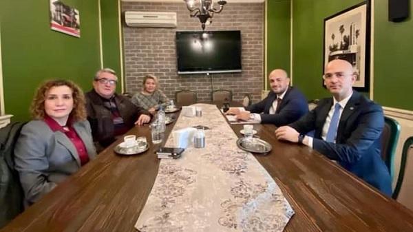Photo of Siyasi Partilerin Sakarya İl Başkanları biraraya geldi
