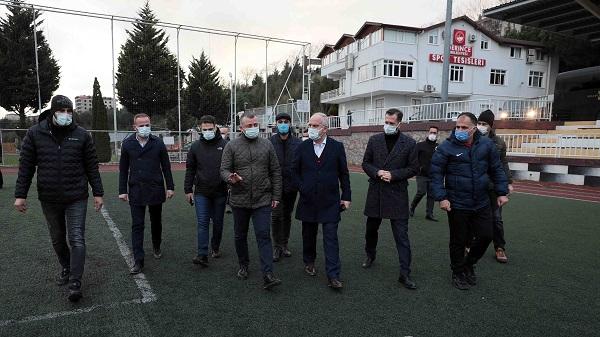 Photo of Başkan Büyükakın'dan amatör spora destek