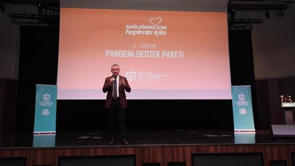 Photo of Kocaeli Büyükşehir'den pandemide 238.6 milyonluk destek