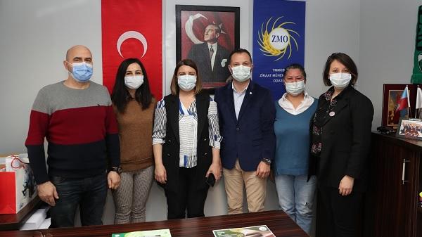 Photo of Başkan Hürriyet Ziraat Mühendisleri Odası'na İzmit Çarşısı'nı tanıttı