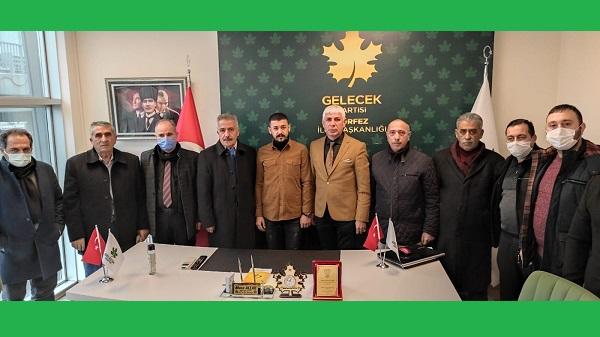 Photo of Gelecek Partisi Körfez Teşkilatı Ağrılıları ağırladı