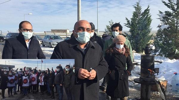 Photo of Grevdeki Baldur ve Migros işçilerine DİH'ten dayanışma ziyareti