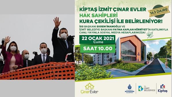 Photo of Kiptaş İzmit Çınar Evler'in sahipleri yarın belli oluyor