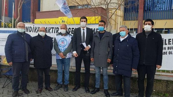 Photo of Özgür Bursalı'dan İzmir'deki Vatan ve Emek Nöbetçilerine Ziyaret