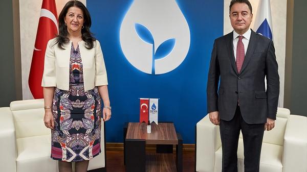 HDP'den DEVA Partisi Genel Merkezine ziyaret