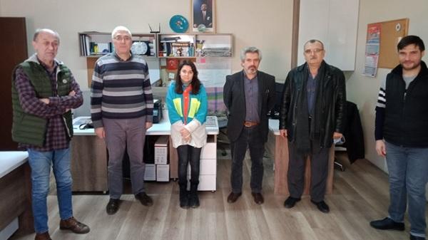 Photo of İGD'den Sakarya Yenigün Gazetesine ziyaret