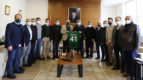 Photo of KOTO Kocaelispor Yönetimini ağırladı