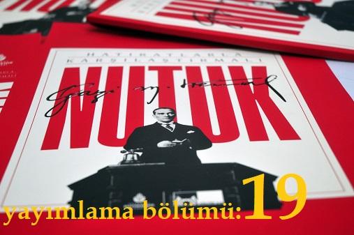 Photo of Nutuk (SÖYLEV)-yayımlama bölümü-19