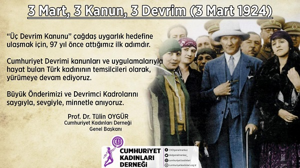 Photo of 3 Mart, 3 Kanun, 3 Devrim