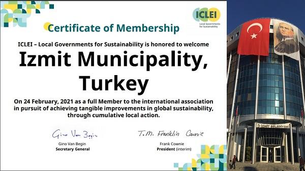 Photo of İzmit Belediyesi 'Sürdürülebilir Kentler Birliği'ne kabul edildi