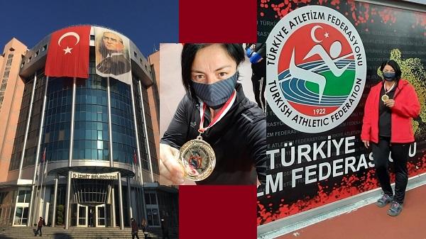 Photo of İzmit Belediyesporlu atlet gülle atmada Türkiye şampiyonu oldu