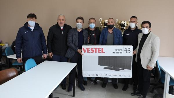 Arslanbey Gençlerbirliği Spor Kulübü Televizyonuna kavuştu