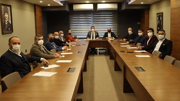 CHP Kocaeli İlçe Başkanları toplantısı