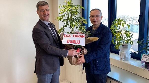 CHP'li Turan Dumlu Emirşah Torun'u ziyaret etti