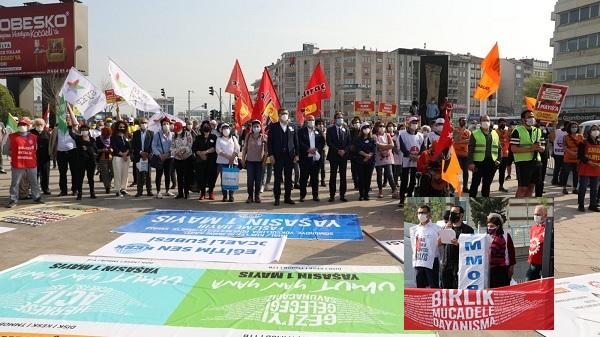 1 Mayıs kutlamalarında Başkan Hürriyet'in mesajı