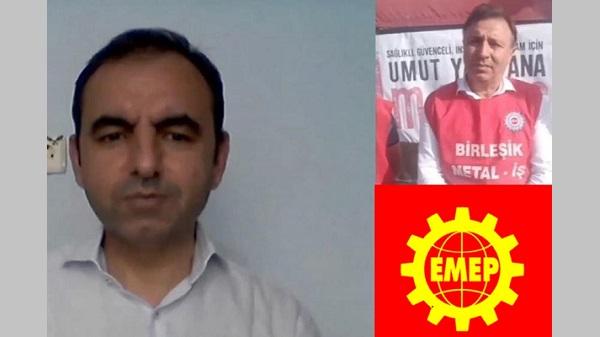 EMEP Genel Başkanı Ercüment Akdeniz