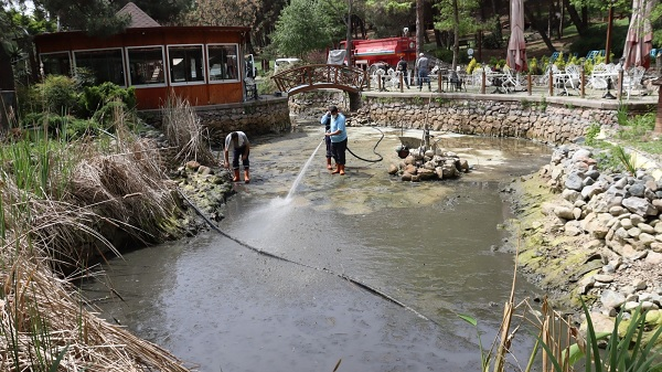 İzmit Belediyesi Ekopark'ı halkın mutlu anlarına hazırlıyor
