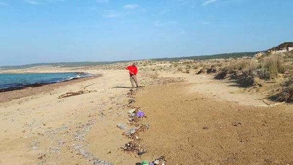 Kuzey Kıbrıs sahilleri risk altında