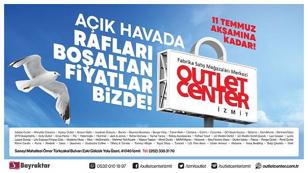 Outlet Center İzmit'te 'Rafları Boşaltan Fiyatlar'