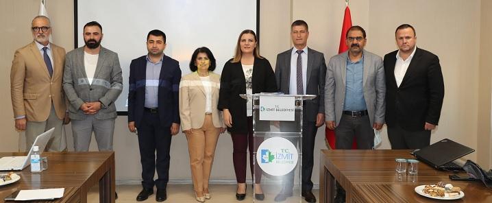 Fatma başkan yöneticileriyle