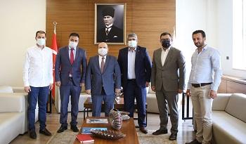 Türk Eximbank heyetinin KOTO ziyareti