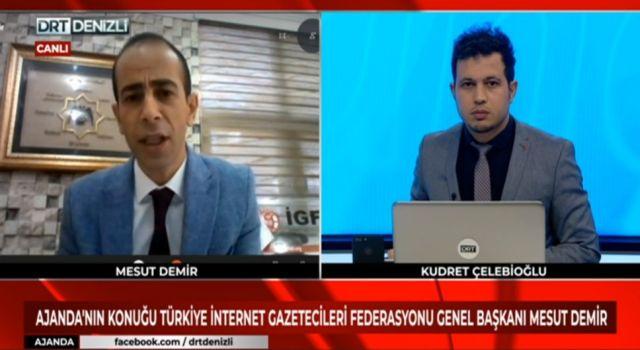 """Photo of İGF Genel Başkanı Mesut Demir: """"İnternet Yasası acilen çıkmalı"""""""