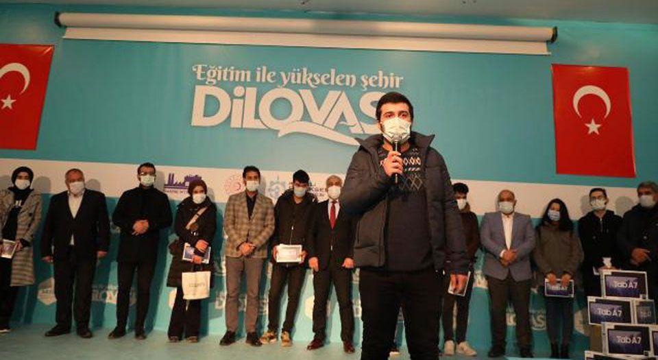 Photo of Kocaeli Dilovası'nda öğrencilerin tablet sevinci