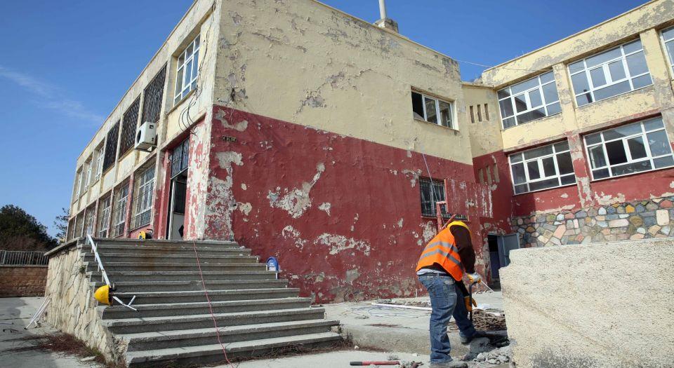 Photo of Dumlupınar İmam Hatip Ortaokulu'nda yıkım çalışması